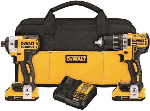 Dewalt Drill Impact Driver Brushless Kit